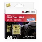 AgfaPhoto Memoria SDHC 32GB UHS I U3