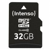Tarjeta de memoria Intenso microSDHC 32GB Clase 10 20MB/s