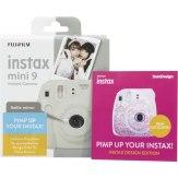 Fujifilm Instax Mini 9 Blanca Set de Diseño