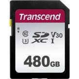 Transcend SDXC 300S 480GB V30 95MB/s