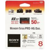 Sony Memory Stick Pro HG Duo HX 8GB 50MB/s Memory Card