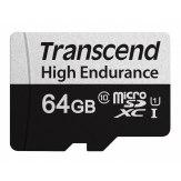 Transcend microSDXC 350V 64GB 100MB/s