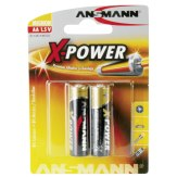 1x2 Pilas alcalinas Ansmann AA X-Power
