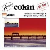 Filtro Cokin Serie A Degradado Naranja Fluo 2 A663