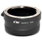 Adaptador réflex Nikon F - Fuji X