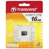Memoria Transcend MicroSDHC 16GB Class 4