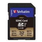 Memoria SDHC Verbatim 32GB UHS-III Pro+ Clase 10