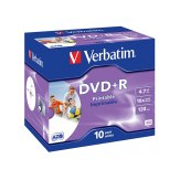 1x10 Verbatim DVD+R 4,7GB 16x Speed