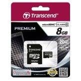 Memoria microSDHC Transcend 8GB Clase 10