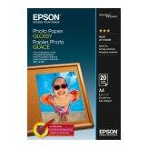 Papel fotográfico Epson Glossy 50 hojas  A4 200 g