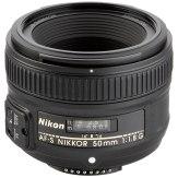 Objetivo Nikon AF-S 50mm f/1,8 G