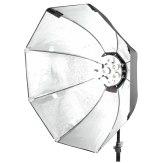 Foco de luz continua Walimex Pro Daylight 1260 con Softbox 80cm