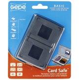 Estuche para tarjetas Gepe Card Safe Basic Onyx