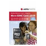 Memoria AgfaPhoto Mobile High Speed 16GB MicroSDHC Class 10 + adaptador