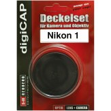 Tapa DigiCAP cuerpo Nikon 1 + tapa protectora trasera