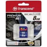 Memoria SDHC Transcend 8GB Class 10 / UHS-I / 300x