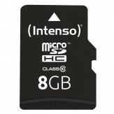 Tarjeta de memoria Intenso microSDHC 8GB Clase 10 20MB/s