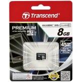 Memoria Transcend MicroSDHC 8GB Class 10 UHS-I