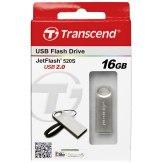 Llave USB JetFlash 520S Transcend 16GB plateado