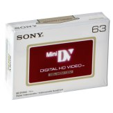 Cinta de vídeo Sony DVM 63 HDV