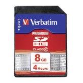 Memoria SDHC Verbatim 8GB Clase 10