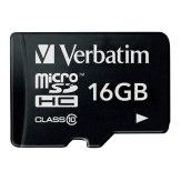 Memoria microSDHC Verbatim 16GB Clase 10