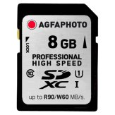 Memoria SDHC AgfaPhoto 8GB Professional Ultra High Speed Clase 10