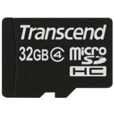 Memoria microSDHC Transcend 32GB Clase 4