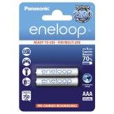 Pilas 1x2 Panasonic Eneloop Micro AAA 750 mAh
