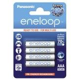 Pilas 1x4 Panasonic Eneloop Micro AAA 750 mAh