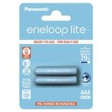 Pilas 1x2 Panasonic Eneloop Lite Micro AAA 550 mAh