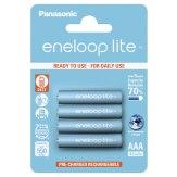Pilas 1x4 Panasonic Eneloop Lite Micro AAA 550 mAh