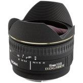 Objetivo Sigma 15mm f/2,8 EX DG Ojo de pez diagonal (Nikon)