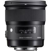 Objetivo Sigma 24mm f/1.4 Art DG HSM Nikon