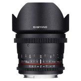 Samyang 10mm T3.1 VDSLR ED AS UMC Lens Olympus