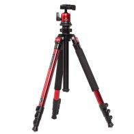 Trípode Triopo K258 + Rótula D-1A Rojo para Kodak EasyShare Z710