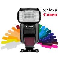 Gloxy GX-F1000 Flash Canon E-TTL HSS Wireless Maestro y Esclavo