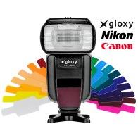Gloxy GX-F1000 Flash TTL HSS Wireless Maestro y Esclavo   para Canon EOS 70D