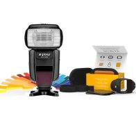 Flash Gloxy GX-F1000 TTL HSS + Modificadores MagMod para Canon EOS 70D