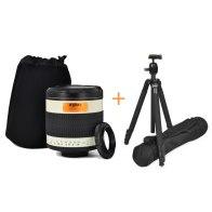 Kit Gloxy 500mm f/6.3 teleobjetivo Canon + Trípode GX-T6662A