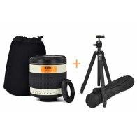 Kit Gloxy 500mm f/6.3 teleobjetivo Nikon + Trípode GX-T6662A