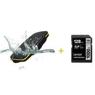 Kit estuche para 8 tarjetas + Memoria SDXC Lexar 128GB para Panasonic Lumix DMC-FT2