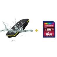 Kit estuche para 8 tarjetas + Memoria SDHC Transcend 16GB para Kodak EasyShare CX7430