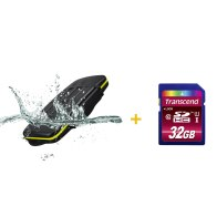 Kit estuche para 8 tarjetas + Memoria SDHC Transcend 32GB para Kodak EasyShare CX7430