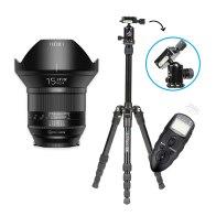 Kit Fotografía Nocturna Irix 15mm f/2.4 Blackstone Nikon para Nikon D5200