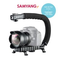 Kit de Vídeo Samyang Ojo de pez 8 mm y Estabilizador para Video
