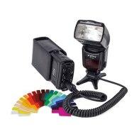 Kit Flash TTL Gloxy + Batería externa para Canon EOS 1300D