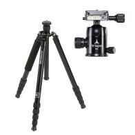 Kit Triopo Trípode 2en1 MT-3230X8C + Rótula B-2 para Fujifilm X-A5