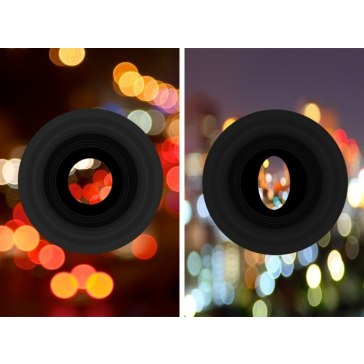 Filtro Anamórfico Bokeh para Kodak EasyShare P712