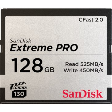 Memoria Compact Flash SanDisk 2.0 128GB Extreme Pro S